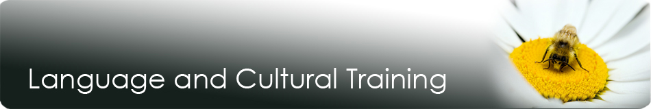 language and cultural training